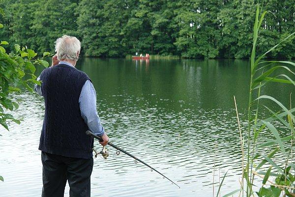 Angler in Fürstenwerder