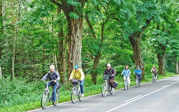 Fahrrad fahren in der Uckermark