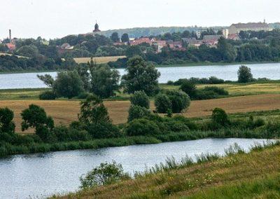 Fürstenwerder - Blick über die Seenlandschaft