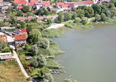 Fürstenwerder - Bootsanleger und Badestelle