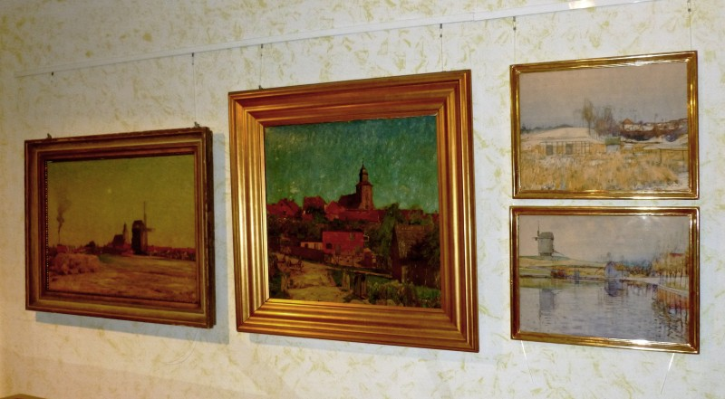 Hans Klohß - Ölmalerei in Fürstenwerder