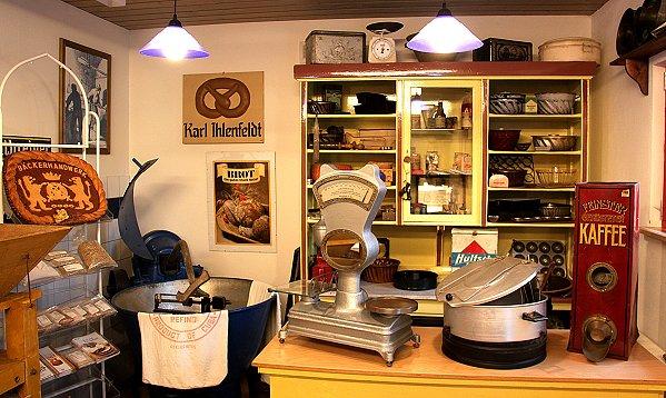 Bäcker-Handwerks-Geräte im Heimatmuseum Fürstenwerder