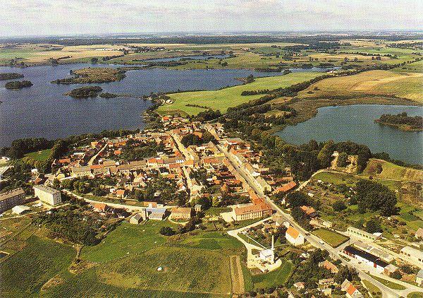 Luftaufnahme von Fürstenwerder 1992