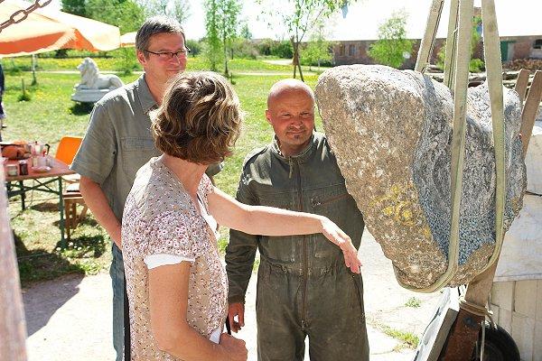 Bildhauer Toralf Jaekel in Christianenhof