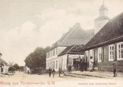 Deutsches Haus, Prenzlauer Straße - 1907