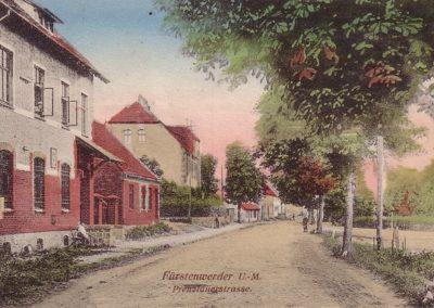 Prenzlauer Straße, coloriert