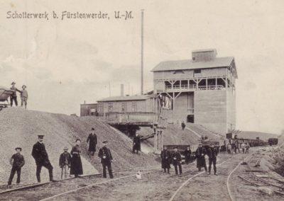 Schotterwerk - 1909