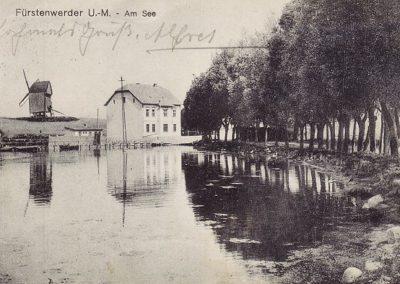 See und Bockwindmühle - 1918