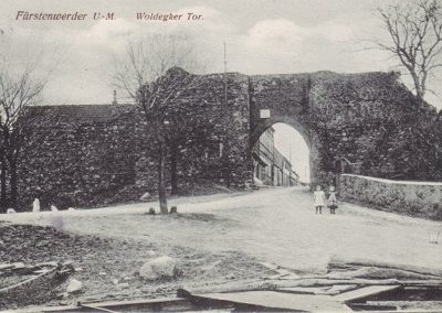Woldegker Tor - 1920