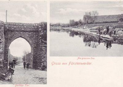 Berliner Tor und See - 1907