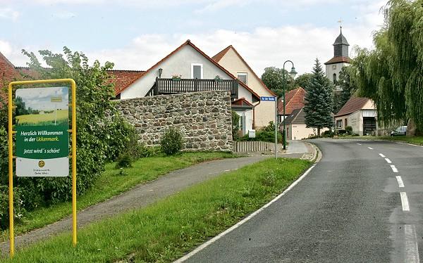Ortseingang Fürstenwerder