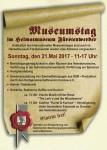 Plakat zum Museumstag 2017 in Fürstenwerder