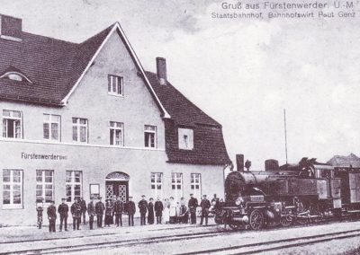 Bahnhof, Staatsbahn 1915