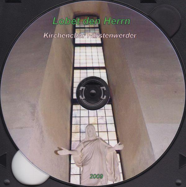 CD-Cover Lobet den Herrn