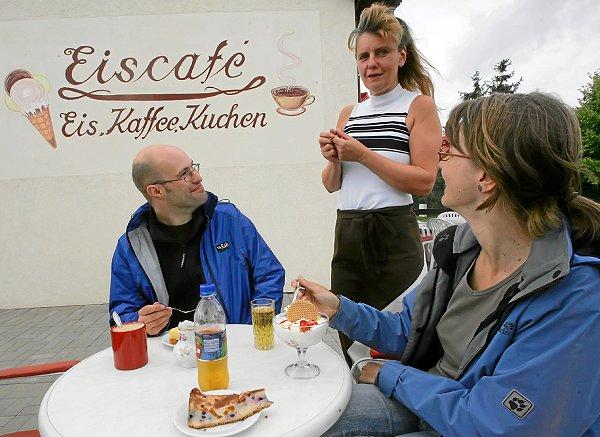 Eiscafé in Fürstenwerder