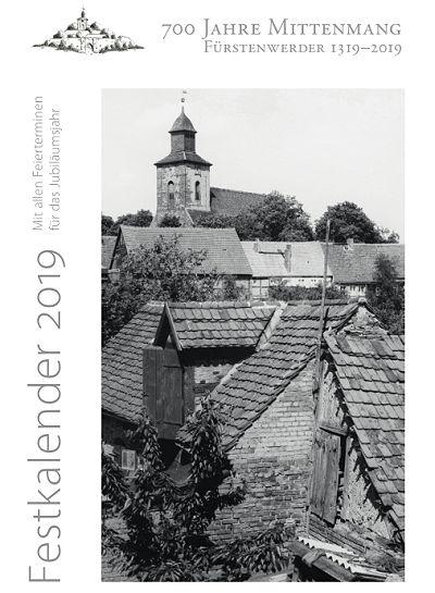 Festkalender Fürstenwerder 2019