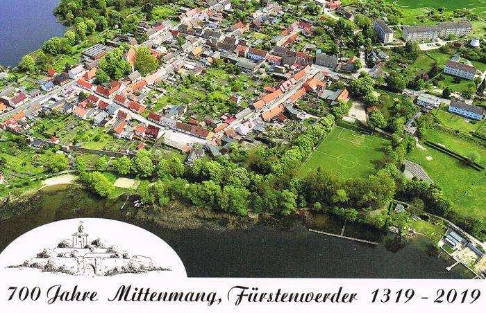 Postkarte Jubiläum Füstenwerder 2019