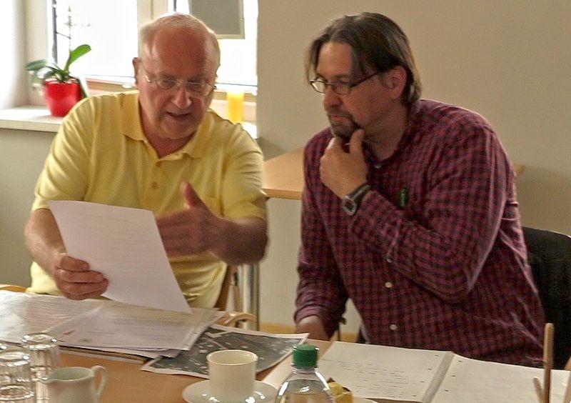 Henning Ihlenfeldt und Ingo Pohlmann