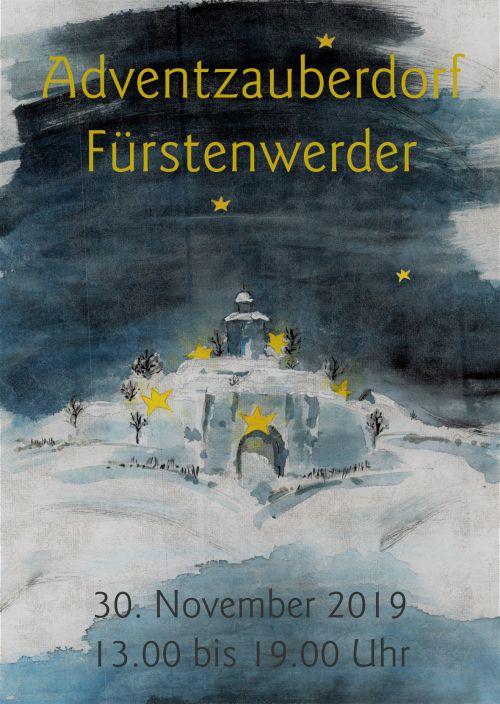 Plakat Adventsmarkt Fürstenwerder